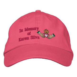 En memoria ofKaren el Silva Gorra De Beisbol