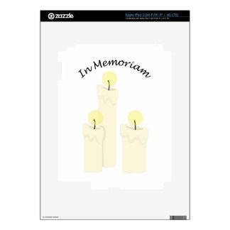 En Memoriam iPad 3 Pegatina Skin