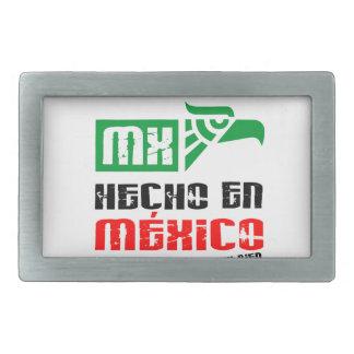 En México de Hecho Hebilla De Cinturón Rectangular
