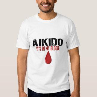 En mi AIKIDO de la sangre Remeras