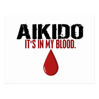 En mi AIKIDO de la sangre Postal