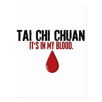 En mi JI CHUAN del TAI de la sangre Tarjetas Postales