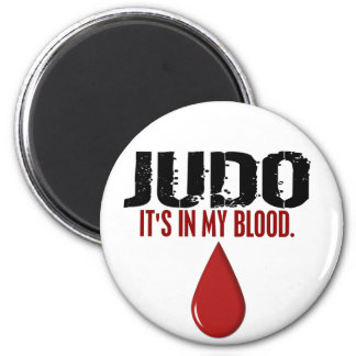 En mi JUDO de la sangre Imán Redondo 5 Cm
