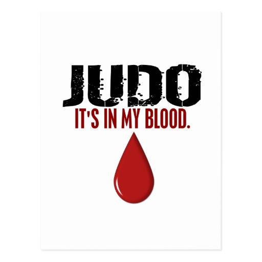 En mi JUDO de la sangre Postal