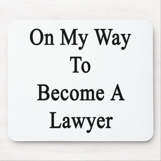 En mi manera de hacer un abogado tapetes de ratones
