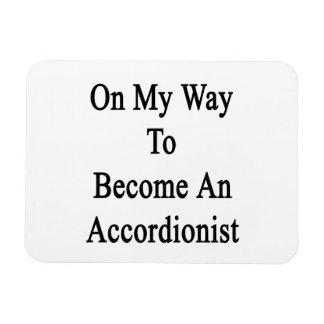 En mi manera de hacer un acordeonista imanes