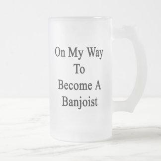 En mi manera de hacer un Banjoist Taza De Café