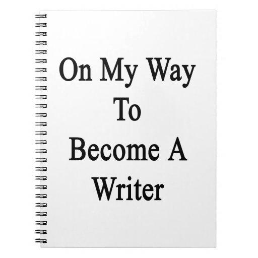 En mi manera de hacer un escritor libreta