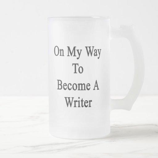 En mi manera de hacer un escritor taza