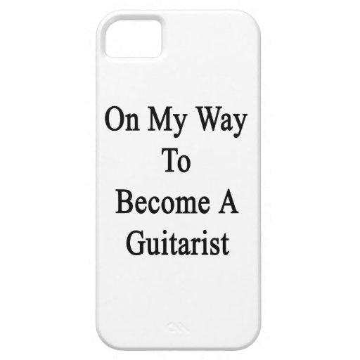 En mi manera de hacer un guitarrista iPhone 5 funda