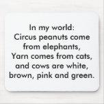En mi mundo: El hilado viene de gatos… Alfombrilla De Ratón