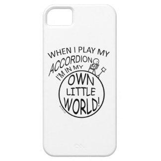 En mi propio pequeño acordeón del mundo funda para iPhone SE/5/5s