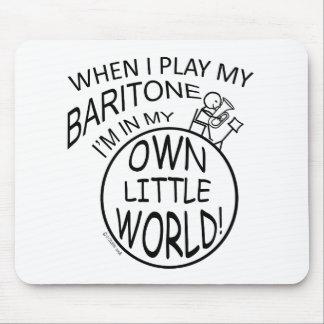 En mi propio pequeño barítono del mundo mousepad