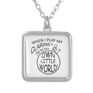 En mi propio pequeño Clarinet del mundo Collares
