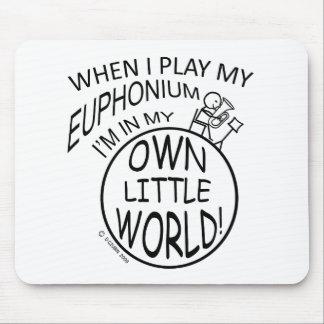 En mi propio pequeño Euphonium del mundo Alfombrillas De Raton