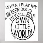 En mi propio pequeño mundo Didgeridoo Impresiones