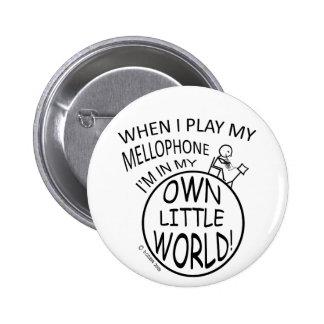 En mi propio pequeño mundo Mellophone Pins