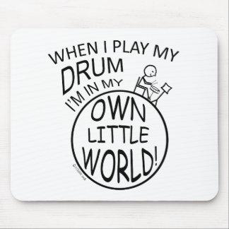 En mi propio pequeño tambor del mundo mouse pads