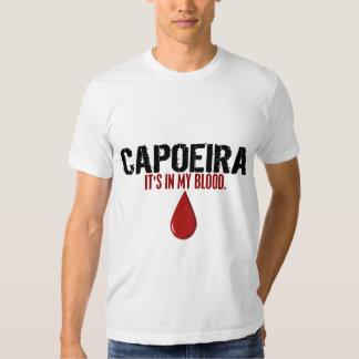 En mi sangre CAPOEIRA Remeras