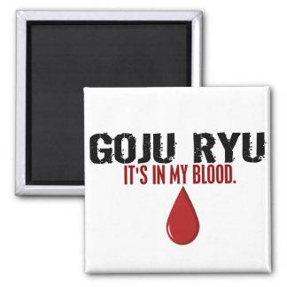 En mi sangre GOJU RYU Imán Cuadrado