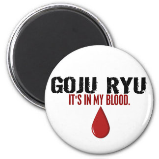 En mi sangre GOJU RYU Imán Redondo 5 Cm