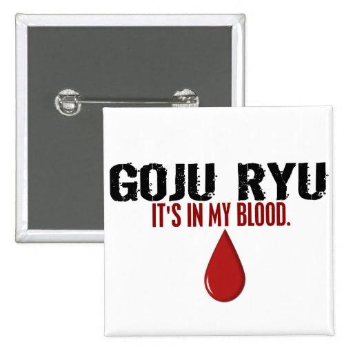 En mi sangre GOJU RYU Pin