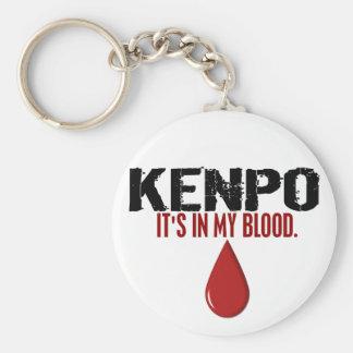 En mi sangre KENPO Llaveros Personalizados