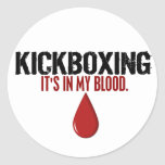 En mi sangre KICKBOXING Etiqueta