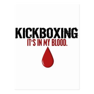 En mi sangre KICKBOXING Postal