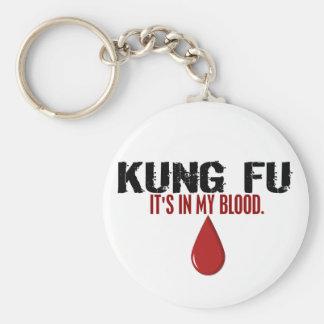 En mi sangre KUNG FU Llavero Personalizado
