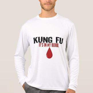 En mi sangre KUNG FU Camisetas