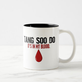 En mi sangre TANG SOO HAGA Taza Dos Tonos