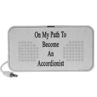 En mi trayectoria a hacer un acordeonista altavoces