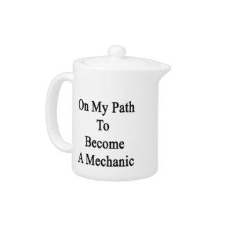 En mi trayectoria a hacer un mecánico