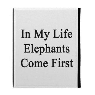 En mi vida los elefantes vienen primero
