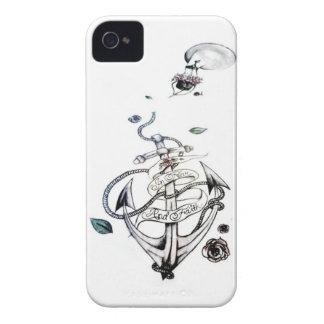 En miedo y la fe iPhone 4 Case-Mate carcasas