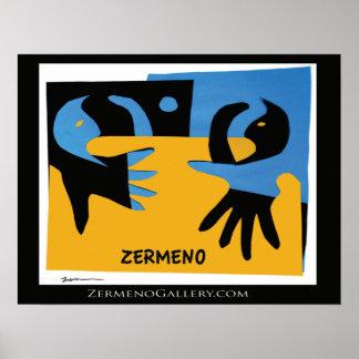 """En mis brazos"" por Zermeno Póster"