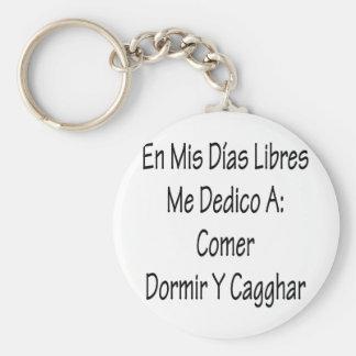 En Mis Dias Libres yo Dedico un asistente Y Cagar Llaveros Personalizados