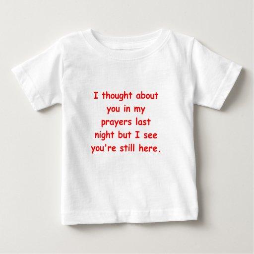 en mis rezos tee shirt