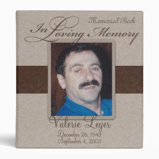 En monumento cariñoso Guestbook de la memoria