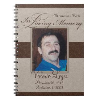 En monumento cariñoso/Guestbook de la memoria Cuaderno