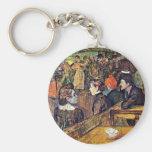 "En Moulin De La Galette "", por Toulouse-Lautrec Llavero Personalizado"