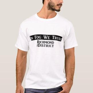 """""""En niebla confiamos en"""" la camiseta de los"""