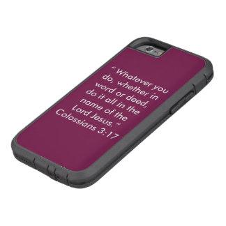 """En nombre de la caja del teléfono celular de Funda Tough Xtreme iPhone 6"