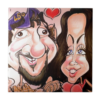 En noviembre de 2012 caricatura justa de Luisiana Azulejos