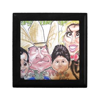 En noviembre de 2012 caricatura justa de Luisiana Cajas De Recuerdo