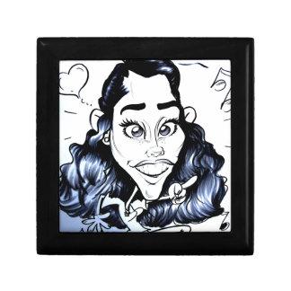 En noviembre de 2012 caricatura justa de Luisiana Caja De Regalo