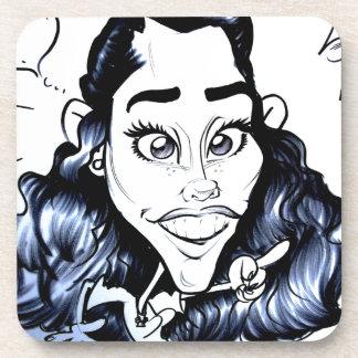 En noviembre de 2012 caricatura justa de Luisiana  Posavasos