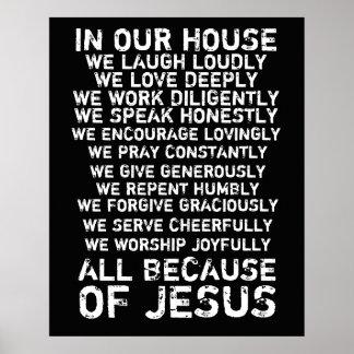 En nuestra casa póster
