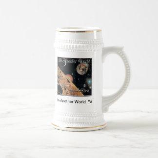 En otro mundo jarra de cerveza